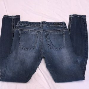 "Express jeans size 6.  28"" inseam"